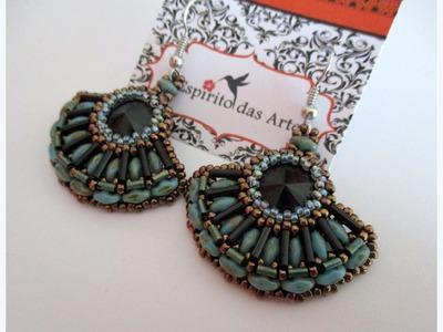 DIY: Fan Earrings Tutorial