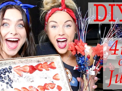 DIY Fourth of July | Angelique & Gianna