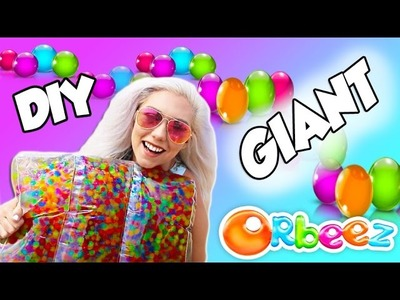 DIY GIANT ORBEEZ PILLOW | PERFECT FOR SUMMER SO MUCH FUN!