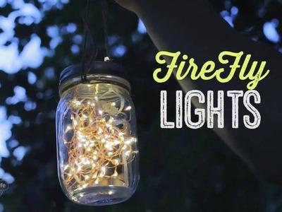 DIY Mason Jar Firefly Lights