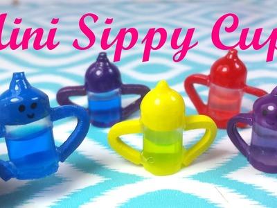DIY Miniature Baby Doll Sippy Cup (Liquid Inside)