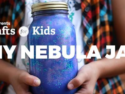 DIY Nebula Jar | PBS Parents | Crafts for Kids
