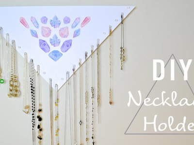 DIY Necklace Holder l Mey Lynn