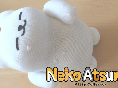 DIY Plush Tubbs from Neko Atsume