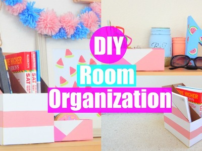 DIY Room Organization and Storage Ideas Using Cereal Boxes! |PastelPandaz