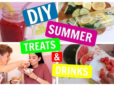 DIY Summer Treats & Drinks | thelazyWAVE