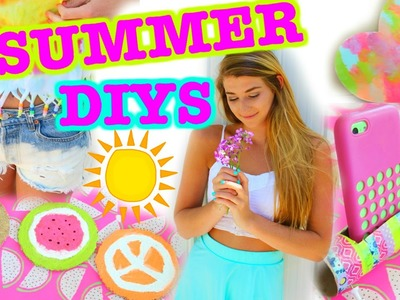 Easy SUMMER DIYS You NEED to Try!