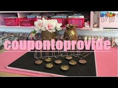 Gold Accessories and Office Supplies DIY   Decor   Dollar Store and Repurposed Supplies