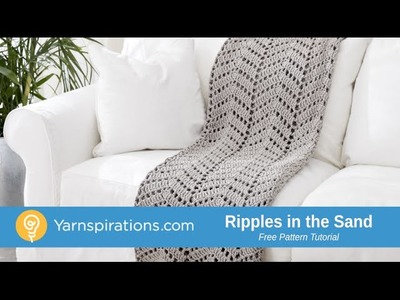 How to Crochet a Blanket: Ripples in the Sand