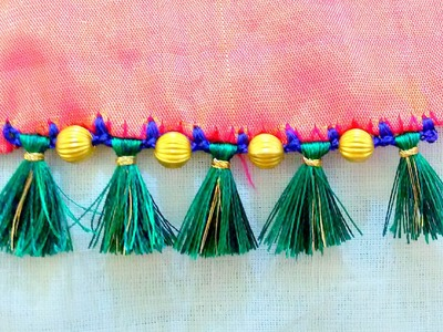 How to do Saree Tassels | Krosha. Crochet | Tutorial 3