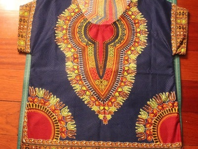 Kharyzma DIY: How To Make a Men's Dashiki EASY!