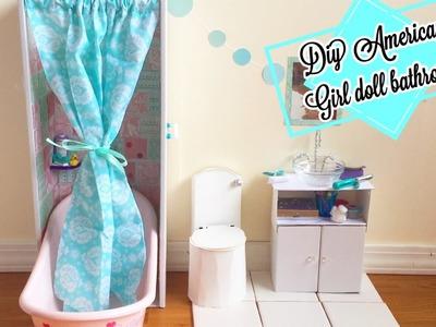 My American Girl Doll Bathroom!