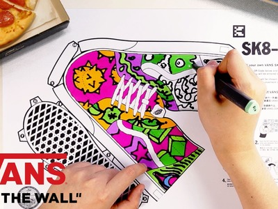 "Vans Hong Kong How To: ""Sk8-Hi DIY"" 