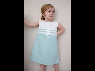 Baby Dress Making-How to make Baby Clothes-Baby Dress Pattern(Sewing for Beginners)