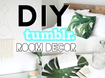 DIY Tumblr Room Decor! Summer 2016!