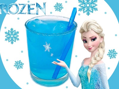 Frozen Birthday Party Drinks - How to Make Easy DIY Disney Elsa Kids Drink- Snowflake Icecubes