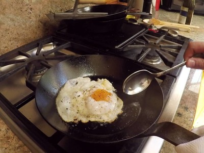 How to Fry an Egg (the extra-crispy method)