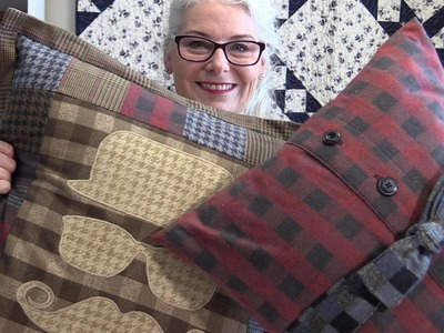 "How to Make Mens Pillows ""Dapper"" Style"