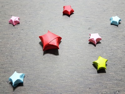 How to Make Stars Origami - Easy Way