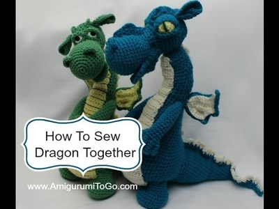 How To Sew The Dragon Together