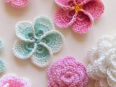 Lean How To Crochet a Beginner Easy Flower | Crochet a Simple Flower