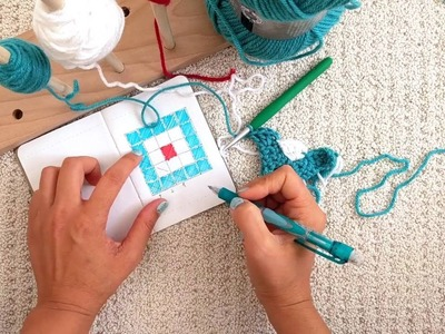 Learn C2C Crochet with a Complete Project, Start to Finish