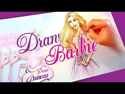 Learn to Draw Barbie princess - Drawing lessons for kids
