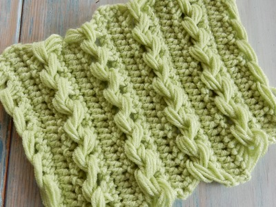 Loop Stitch Braid - How to Crochet (Fiddly!)