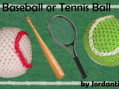 New Baseball Tennis Ball Loomigurumi Amigurumi Rainbow Loom Band Crochet Hook Only Sports