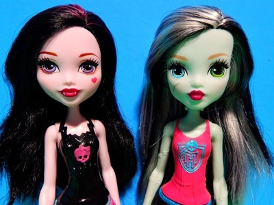 NEW! Monster High REBOOT Frankie & Draculaura Dolls How Do You Boo? Unboxing Toy Review