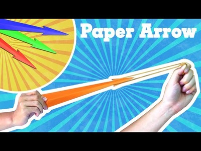 Origami easy - How to make a easy paper rocket (paper arrow that shoots)