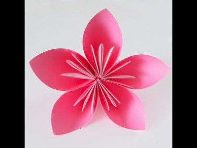 Easy Origami | How To Make A Flower By Paper | Origami For Beginner