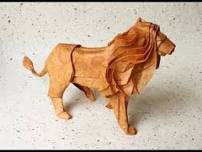 How to make a 3D Paper Lion By Knowledgebasevideos