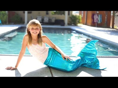How to Make a Mermaid Tail! Swimmable and Very Easy Under $25