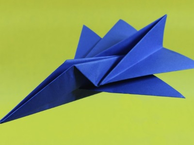 How To Make A Simplified Paper Jet!