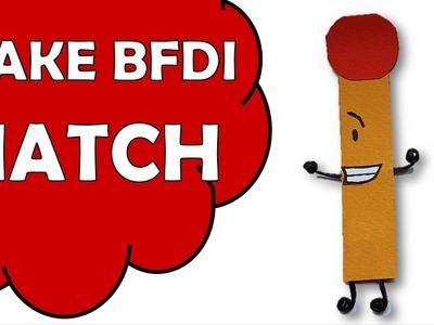 How To Make BFDI Match