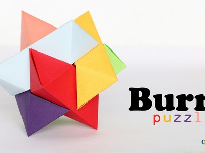 How to make : Burr Puzzle - Origamy Puzzle