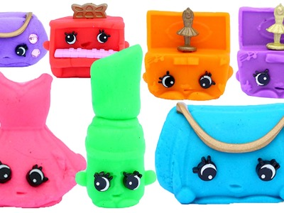 How To Make Shopkins With 3d Molds Modelling Clay Poppit and Play Doh
