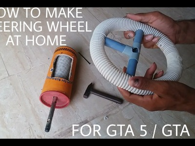 How To Make Steering Wheel By Using Only Mouse | Driving Simulator For GTA 5. GTA San Andreas