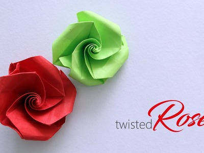 How to make : Twisted Rose