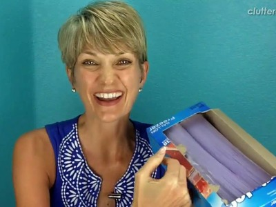 How to Organize Food Storage Bags, Wraps and Foil | Clutter Video Tip