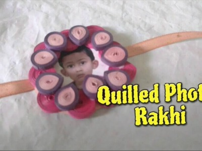 Paper Quilling Photo Rakhi Making Idea For Raksha Bandhan [How To] - Craftlas