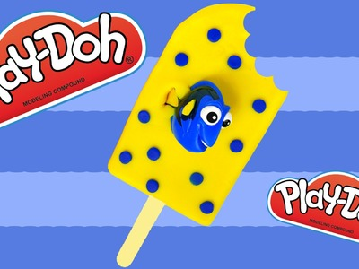 Play Doh Dory Ice Cream Popsicle Finding Dory How to Make