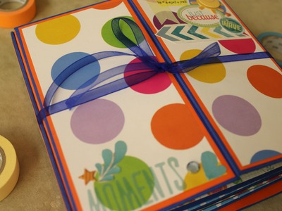 Tutorial Mini Álbum + Scrapbook