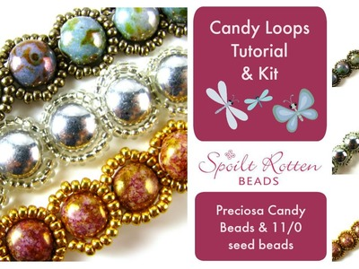 Candy Loops Bracelet & Necklace Tutorial
