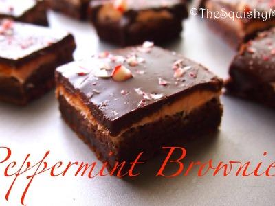 Chocolate Mint Ganache Brownies Recipe
