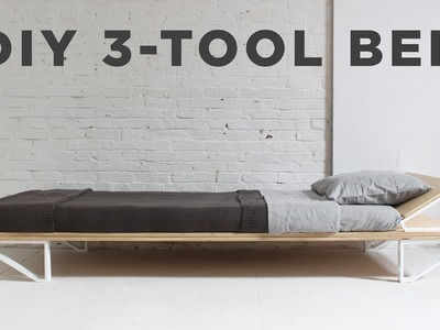 DIY Bed | 3-Tool Series