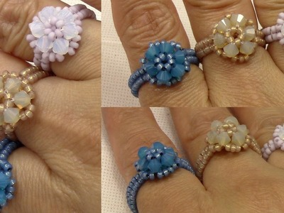 Handmade Jewelry Elegant Trio Ring