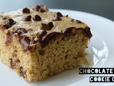 Healthy High Protein Chocolate Chip Cookie Cake Recipe | How To Make A Low Calorie Cookies Cake