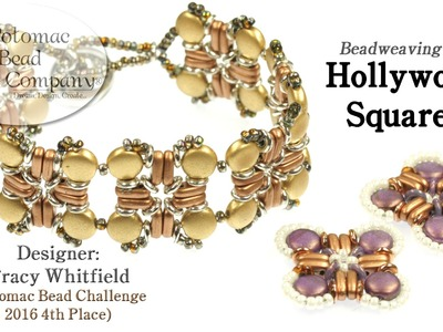 Hollywood Squares Bracelet Tutorial